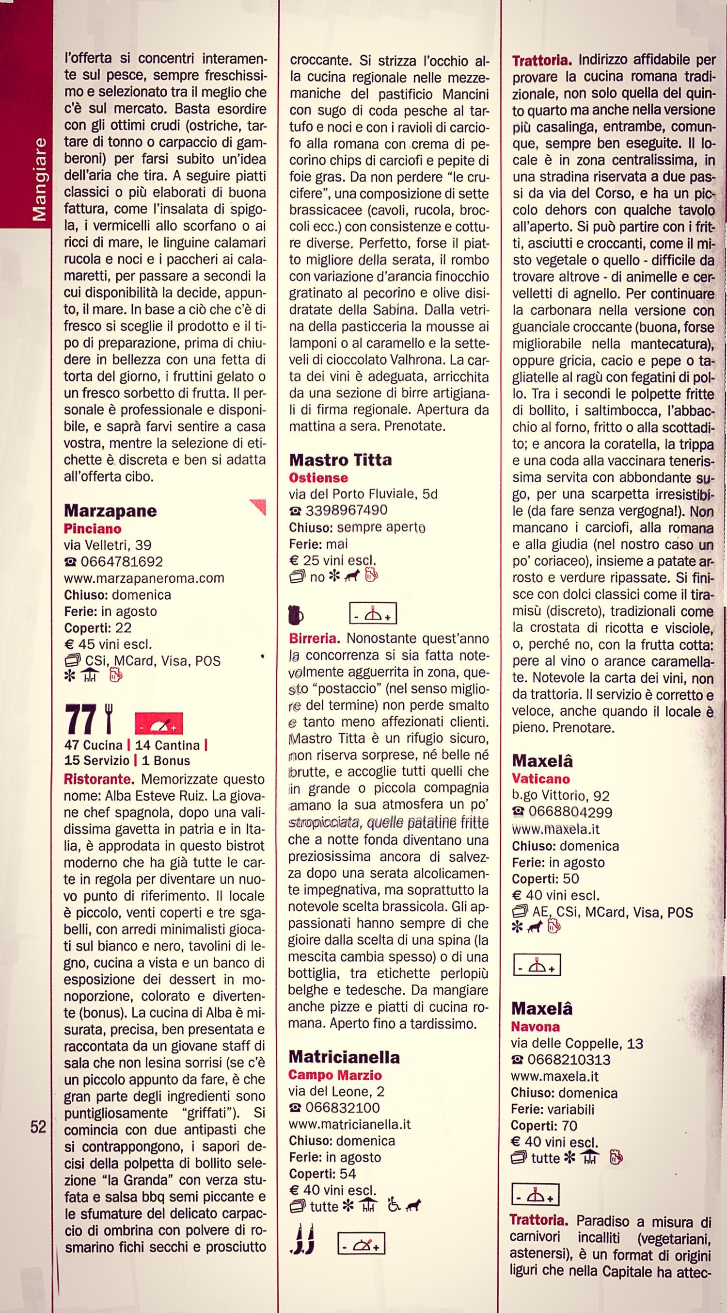 La matricianella roma milgiori ristoranti cucina for La cucina romana